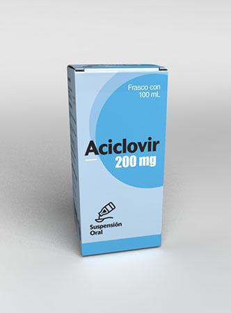Aciclovir Suspension Vademecum Laprofar